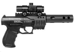 Pistola CO2 WALTHER NIGHTHAWK black cal. 4.5