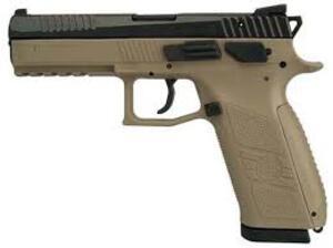 Pistola Semiautomatica CZ C.9MM MOD. P-09 COYOTE FDE