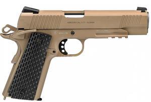 Pistola Swiss Arms 1911 calibre 4.5MM sistema Blowback color: Arena