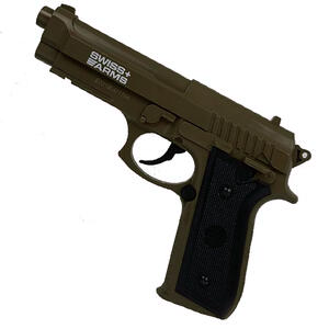 Pistola Swiss Arms SA P92 CO2 calibre 4.5mm corredera fija (Polimero) Arena