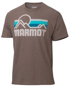 Remera Marmot h. Coastal brown heather