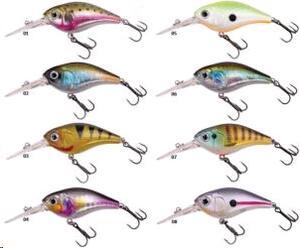 Señuelo Dam EFFZETT PRO-LITE D CRANK 50 R trout