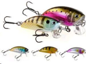 Señuelo Dam EFFZETT PRO-LITE S CRANK 50 R trout