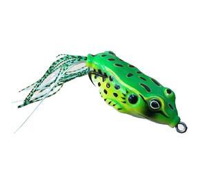 Señuelo Okuma Big Frong 70mm 19,6 gramos color 79 Verde con Negro