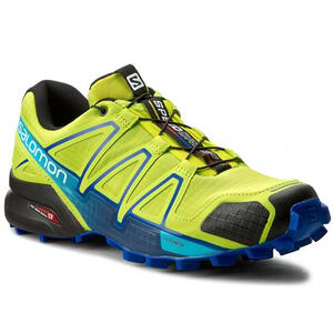 Zapatilla Salomon h. Speedcross 4 lime green/ nautical blue/ hawaiian ocean