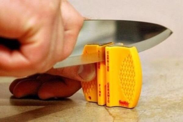 Afilador Magnum amarillo de bolsillo carburo y ceramica