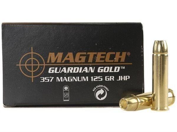 Balas Magtech C.357MAG 125GR JHP GUARDIAN GOLD