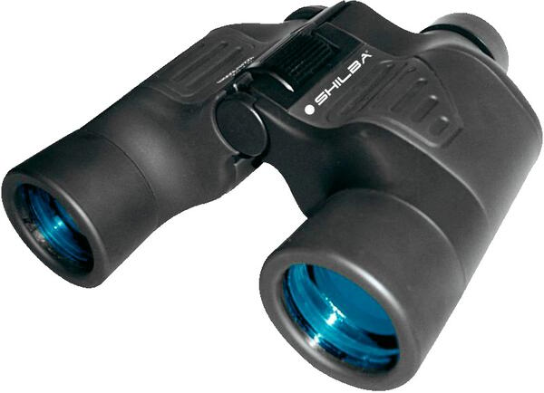 Binocular Shilba 12x50 New Master View V azul.  Campo visual 1000/ 86 metros