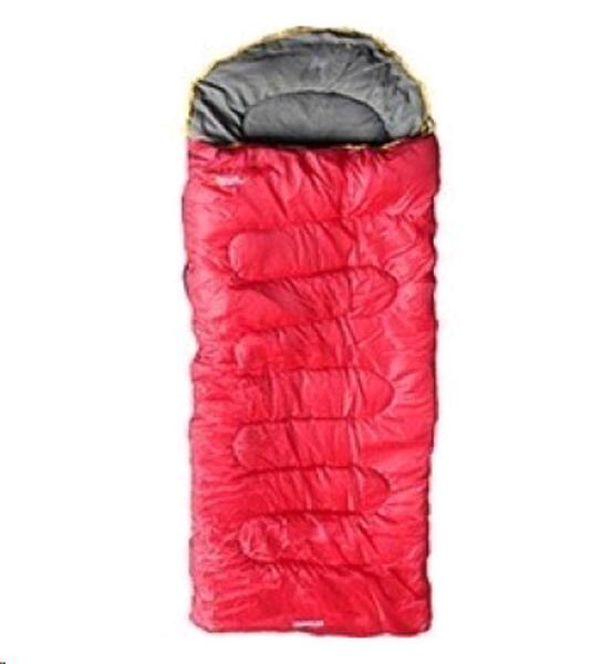 Bolsa de dormir National Geographic Traveller Rojo 4°
