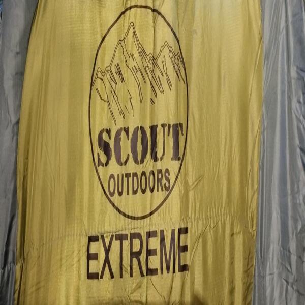 Bolsa de dormir Scout Mum EXTREME  medidas 230X80X55 peso 350Gramos