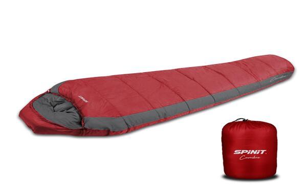 Bolsa de dormir Spinit Cumbre Roja/Gris