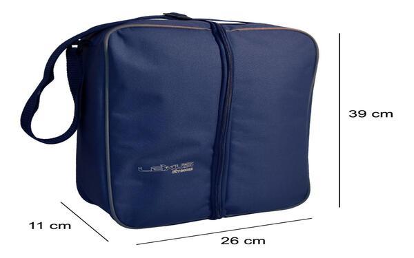 Bolso Matero Lexus  28x11x39 cm  p/termo  col. azul