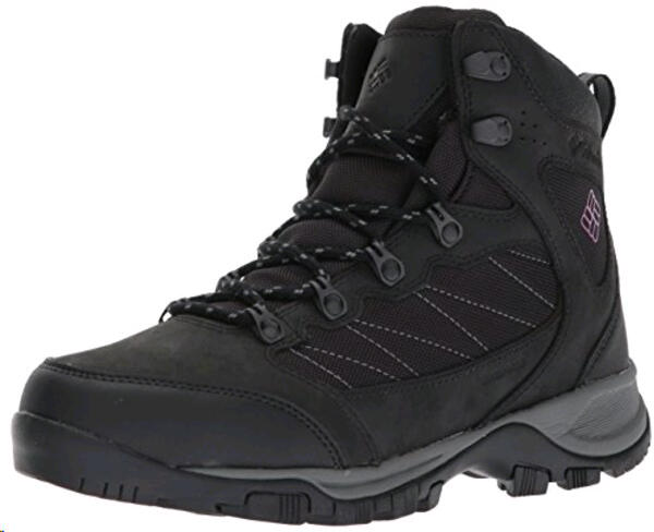 Bota Columbia h. Cascade Pass waterproof black mountain red/noir