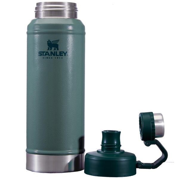 Botella Stanley para liquido acero inoxidable color verde 750ml (BA)