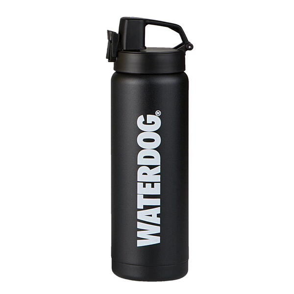 Botella Waterdog Acero Inoxidable black  600cc  SB4060BK