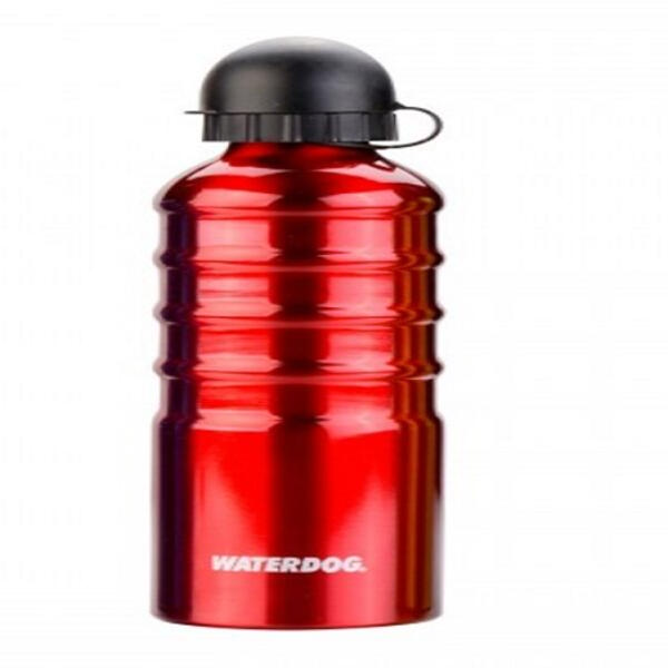 Botella Waterdog Aluminio Waterdog mod. Ab1c075rd 750cc. rojo redondo