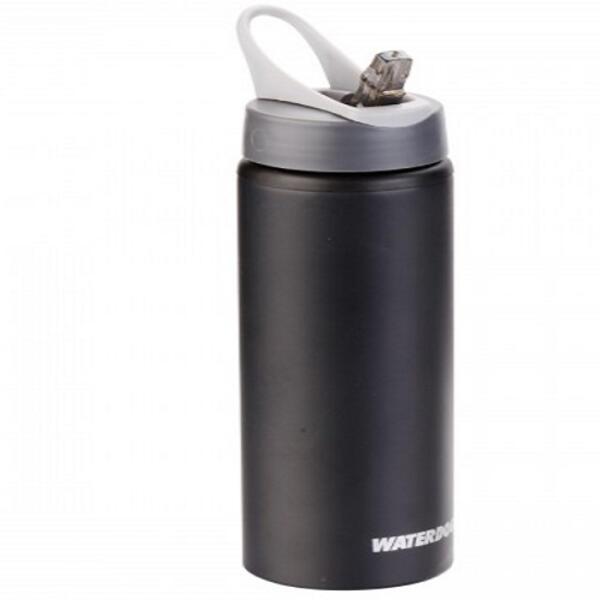 Botella Waterdog Aluminio Waterdog mod. Ab3075bk 750cc. negro/con pico
