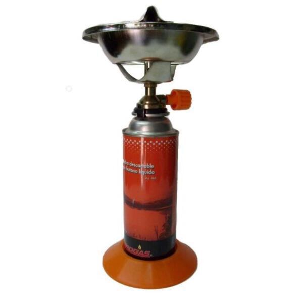 Calentador Brogas p/cartucho de 250 grs aerosol sist. clip