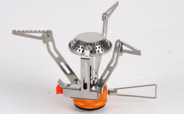Calentador Foco a cartucho mini plegable c/encendido 115 gr