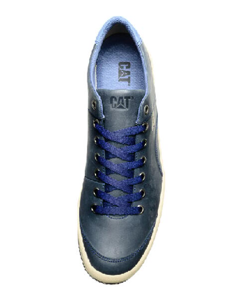 Calzado CAT h. SHERLOCK cuero azul