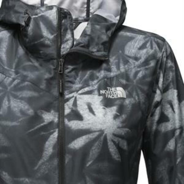 Campera The North Face d. Flyweight hoodie grey/black