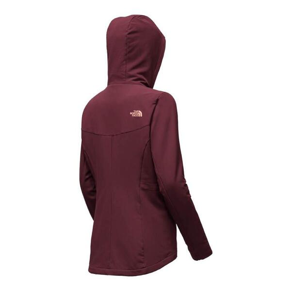 Campera The North Face dama Shelbe Raschel hoodie deep garnet red