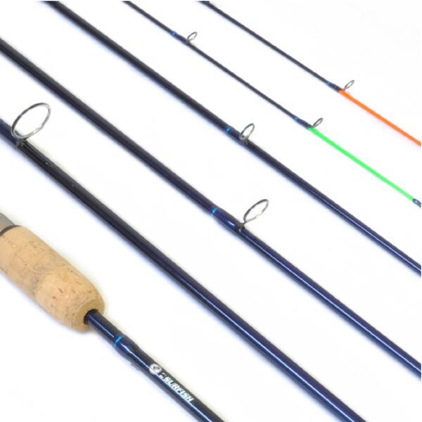 Caña Surfish QUESTRA 5 tramos y 1 puntera ad. grf con estuche 2.70 mts