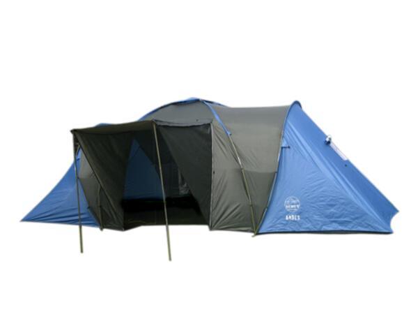 Carpa iglu Scout ANDES 8 pers. 2 dorm.
