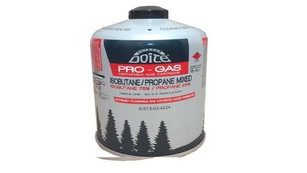 Cartucho de gas Doite butano propano 450 grs 09094