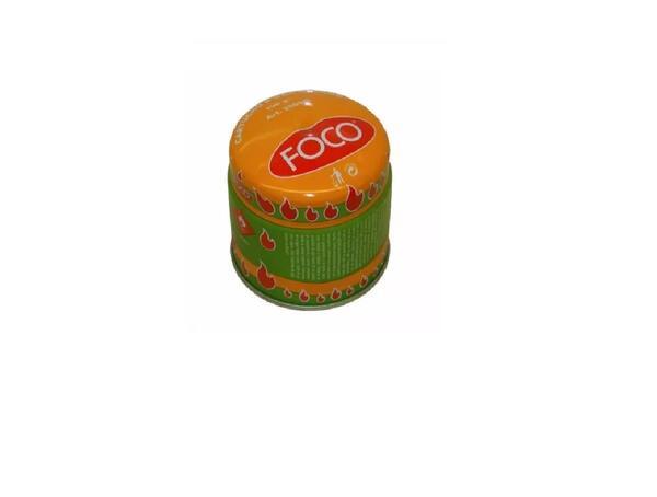 Cartucho de gas Foco butano 190 grs