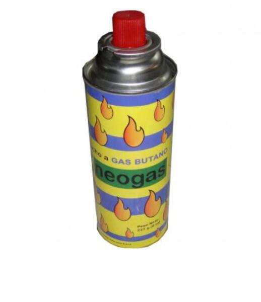 Cartucho de gas Neogas butano 227 grs.