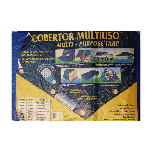 Cobertor multiuso 5.50 x 7.00 mt.