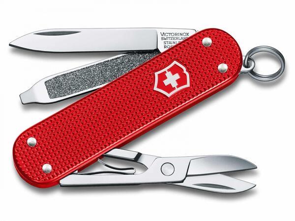 Cortapluma Victorinox Classic Alox rojo 5 usos mod. 0.6221.L18
