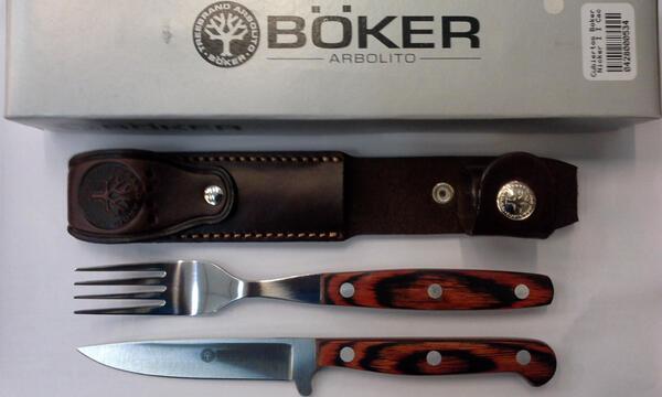 Cubiertos Boker Nicker I I Cacha Laminada FC5731L