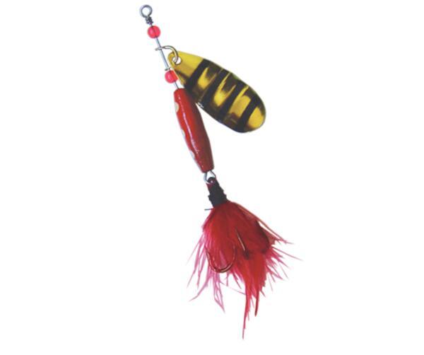Cuchara Voladora Reflex 10g roja - negra