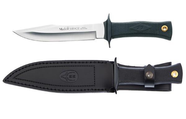 Cuchillo Muela MIRAGE-18H cachas madera hoja 18 cm.