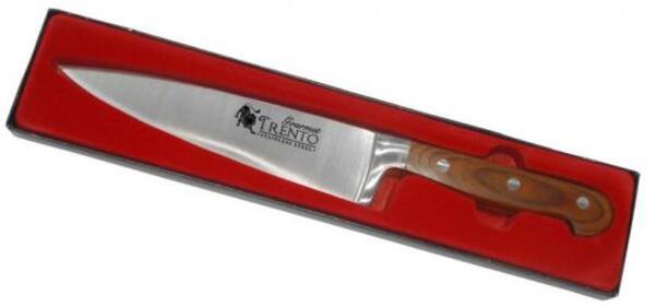 "Cuchillo Trento GOURMET madera 8"""