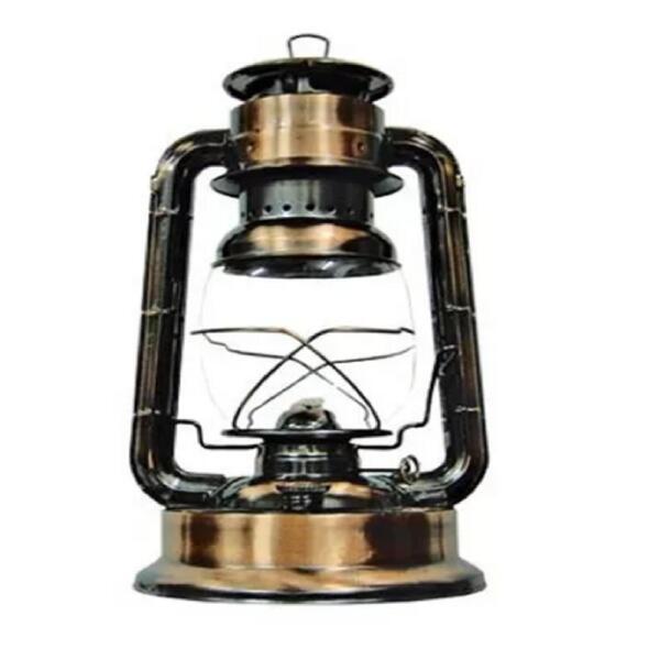 Farol a kerosene 200 gr. bronce antiguo