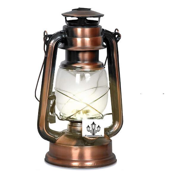 Farol a kerosene 300 gr. bronce antiguo