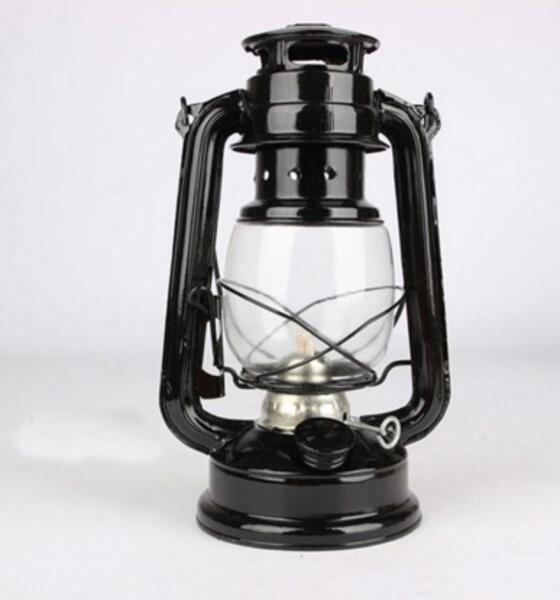 Farol a kerosene 500 gr. bronce antiguo