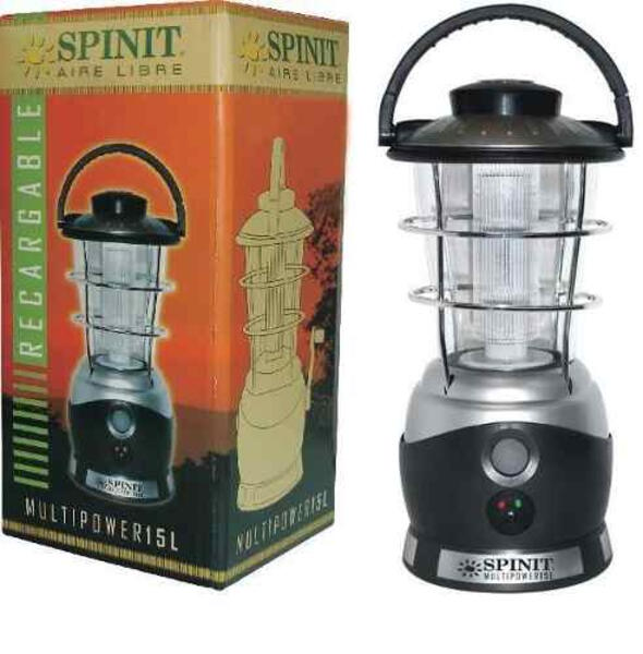 Farol Spinit recargable multipower 15L