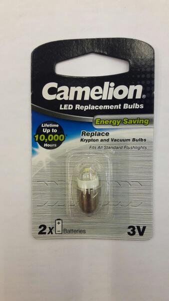 Foco LED CAMELION 2 elem. BL304WN-BP1 3v