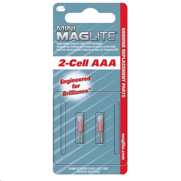 "Lampara Maglite ""aaa"" High-intensity X 2"