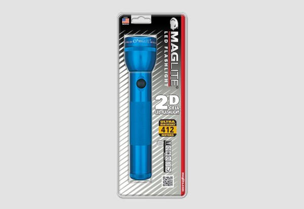 "Linterna Maglite Led ""2 D"" Azul REBEL"