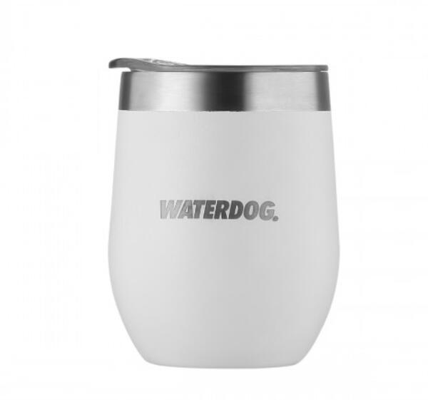 Mate termico Waterdog Copon acero inoxidable white 350cc  COPON350WH