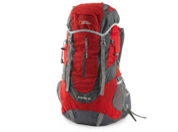 Mochila National Geographic New Everest 55 Rojo/Gris