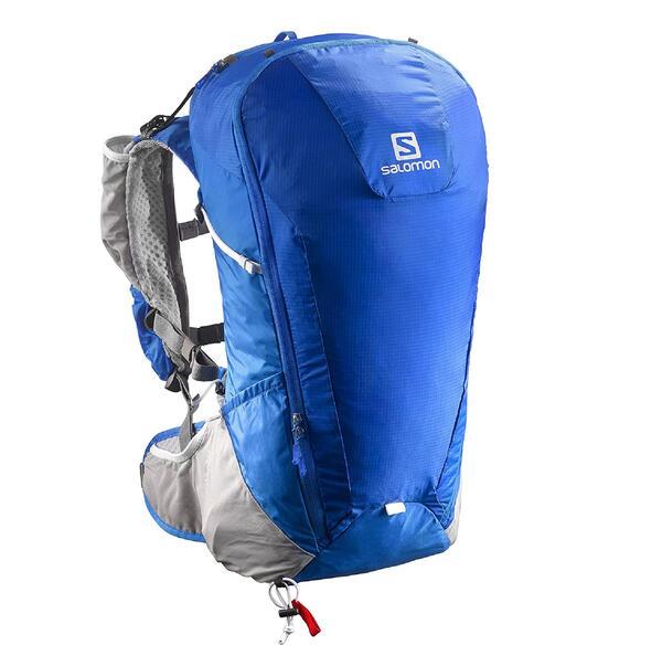 Mochila Salomon Peak 20 litros color Azul con Gris