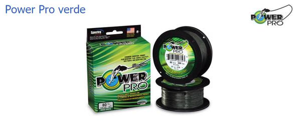 Multifilamento Power Pro 0.40 mm X 300 mt. verde