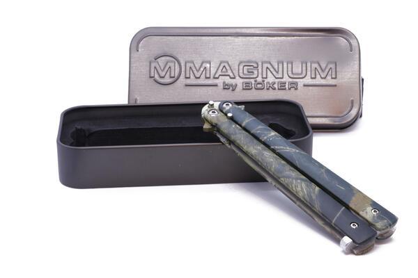 Navaja Boker Magnum Mariposa Camo MB403