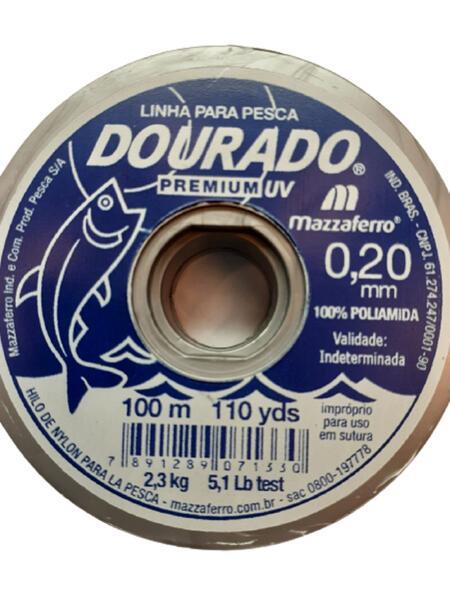 Nylon Dourado Premium 0.20 X 100 Mt. Natural